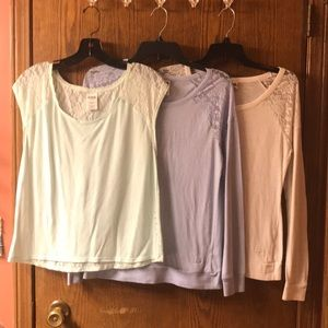 Pink Victoria's Secret Shirt Bundle